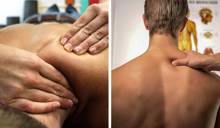 Body rub treatment